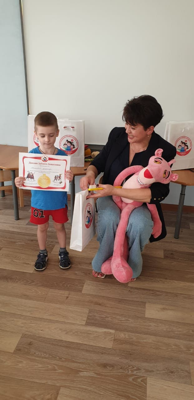 Обучение детской гигиене в детских садах и школах